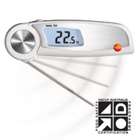 Testo 104 Waterproof Folding Thermometer
