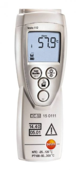 Testo 112 highly accurate thermometer 05601128